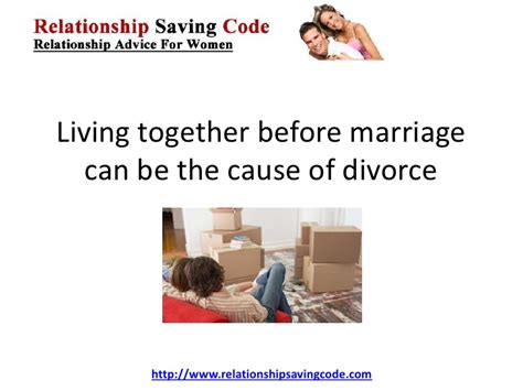 the patch marriage and the of living together books living together before marriage can be the cause