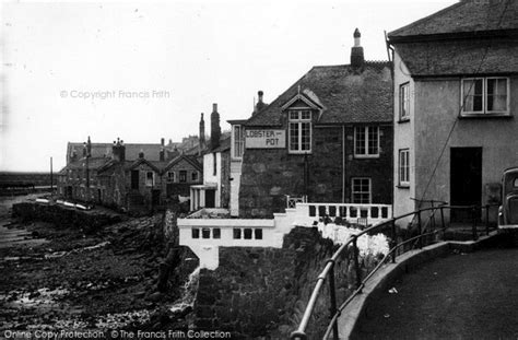 Lobster Cottage Mousehole by Mousehole Lobster Pot Corner C 1955 Francis Frith