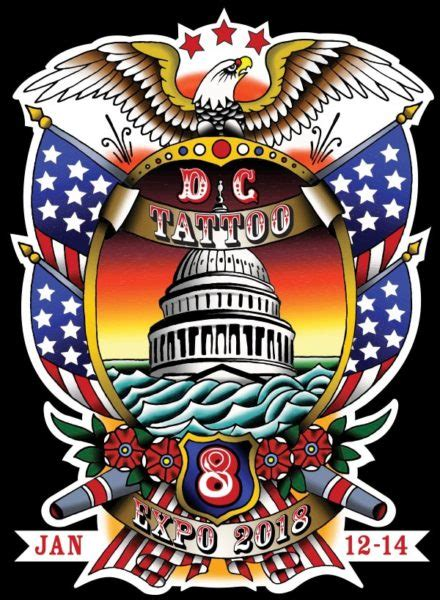 tattoo convention dc dc expo george bardadim artist nyc