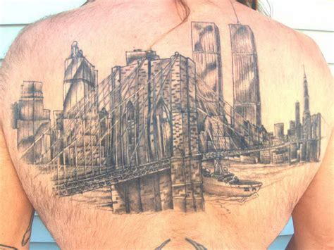 brooklyn tattoo bridge skyline bridge 171 top tattoos