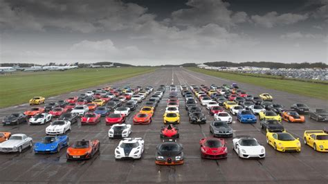 This is what £20m of supercars looks like   Top Gear