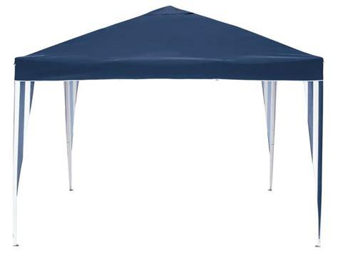 pavillon lidl florabest 174 aluminium faltpavillon blau lidl f 252 r 59 99