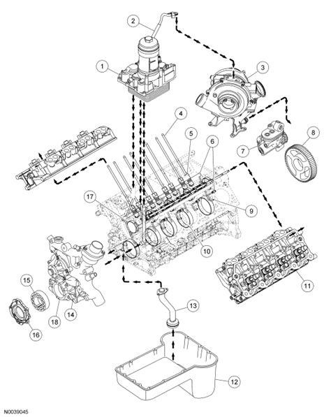 2005 ford f-250: an engine diagram..superduty..powerstroke