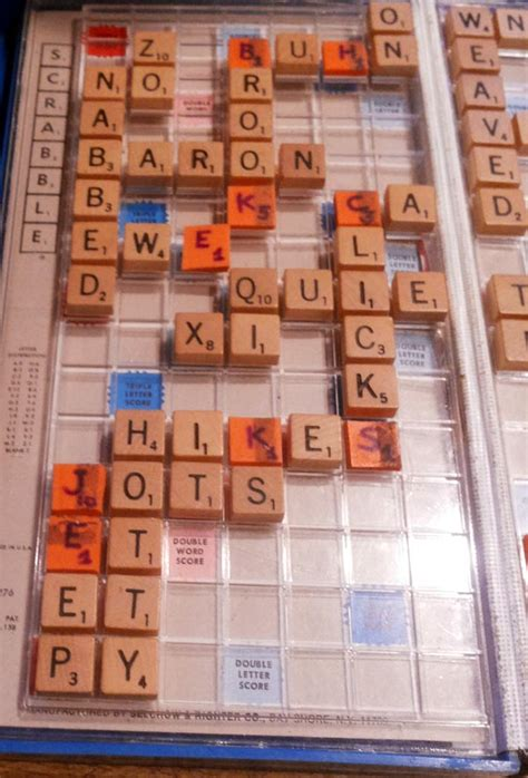 scrabble points with my suzanne i play scrabble
