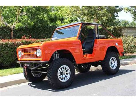 classic ford bronco for sale classic ford bronco for sale on classiccars 136