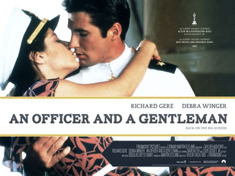 Officer And Gentleman an officer and a gentleman did you see that one