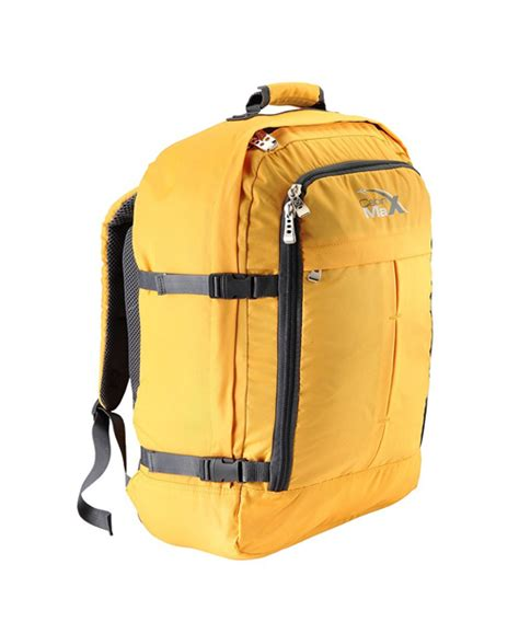 cabin max carry on bag cabin max backpack carry on bag luggage yellow