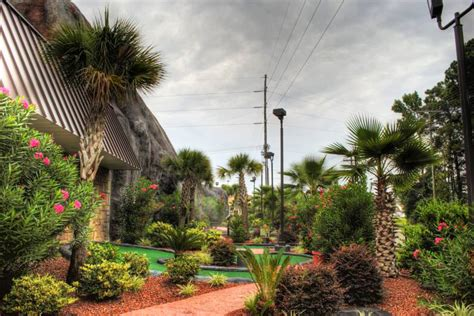 Molten Mountain Gallery   Myrtle Beach Mini Golf Course
