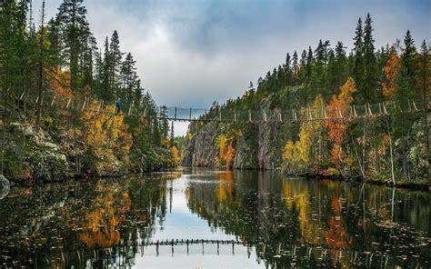 hossa national park finland     unspoiled