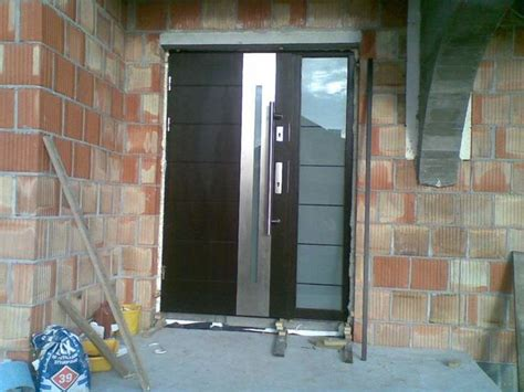 Contemporary Metal Front Doors Stainless Steel Modern Exterior Door Contemporary Front Doors New York By Ville Doors