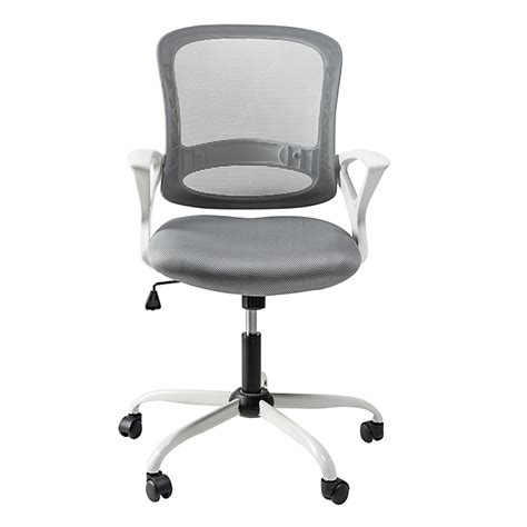 roulettes fauteuil bureau fauteuil de bureau 224 roulettes blanc et gris archic d 233 coration int 233 rieur alin 233 a