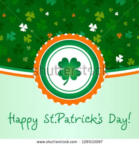 what was the original color of st day the original postcard st s day with traditional