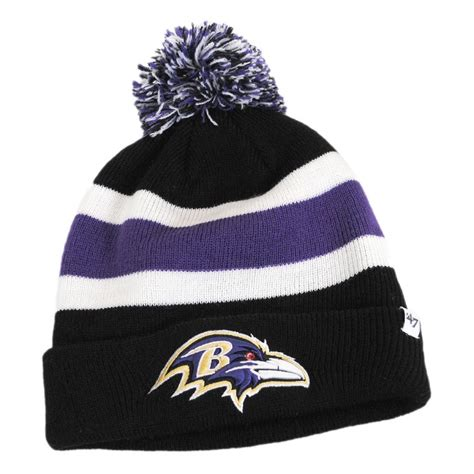 ravens knit hat 47 brand baltimore ravens nfl breakaway knit beanie hat