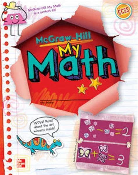 Mcgraw Hill My Math Grade 1 Student Edition Volume 2