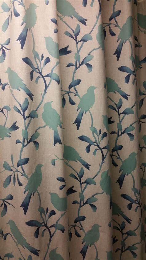 Unique Fabric Shower Curtains Custom Made Designer Fabric Shower Curtain Or By Kirtamdesigns