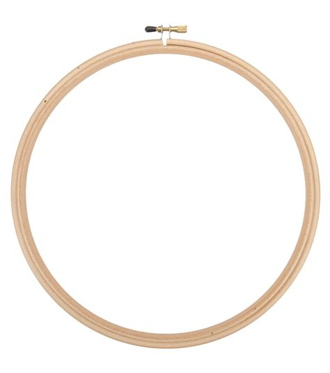 embroidery hoop 12 quot wood embroidery hoop with edges jo