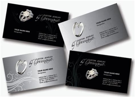 business card templates jewelry free jewelry business cards skytechgeek