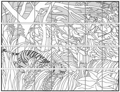printable art murals free coloring pages of mural diagram