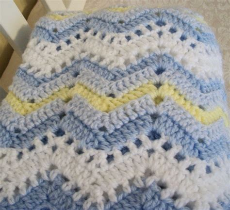 free easy ripple crochet baby blanket pattern my crochet ripple blanket crochet crochet for beginners