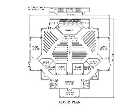 floor plan of a church cds church plans sle plan floor home building plans