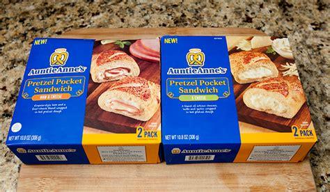 Review My Is A Pretzel by Auntie S Pretzel Pocket Sandwiches Review Brownie