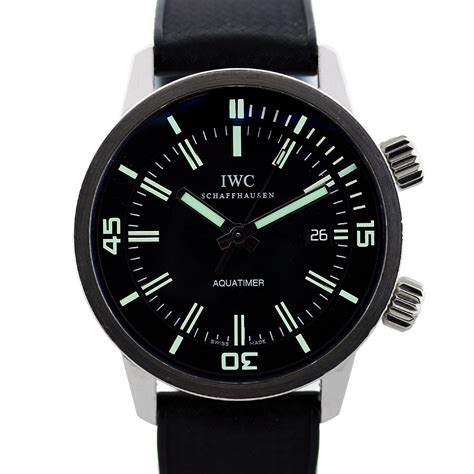 iwc aquatimer iw323101 vintage collection automatic mens
