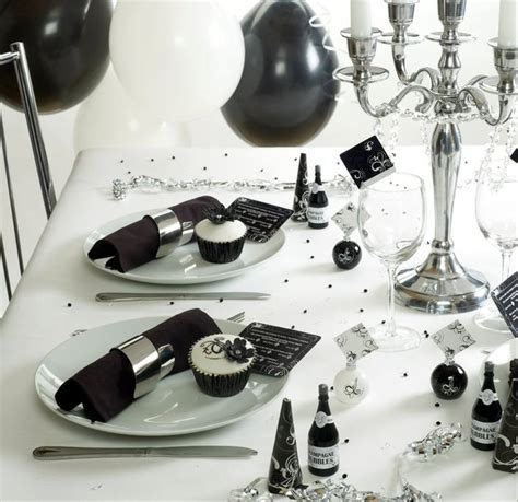 black and white table setting 35 black and white wedding table settings table