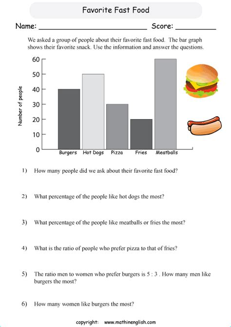 printable bar graphs with questions number names worksheets 187 analyzing graphs worksheets
