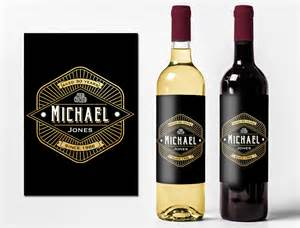 custom birthday wine labels personalized wine bottle stickers