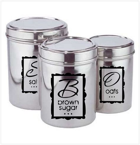 labels for kitchen canisters 32 best images about cricut on vinyls