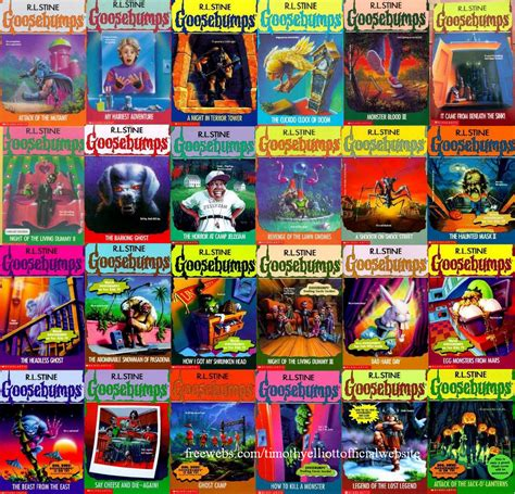goosebumps books pictures fear and goosebumps happy or hungry