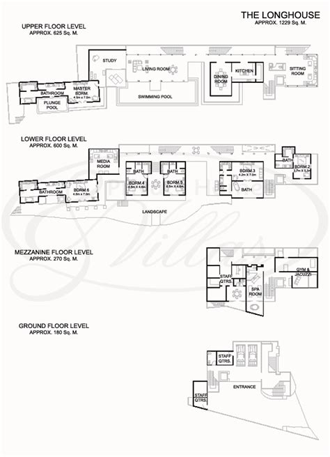 longhouse plans the longhouse a villa in jimbaran bali indonesia floorplans instead of staying in hotels