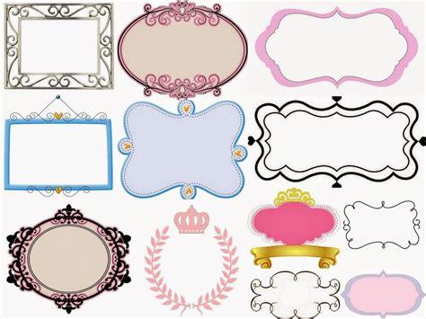 etiquetas personalizadas gratis fiesta de princesas marcos toppers o etiquetas para