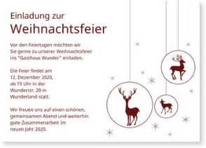 Muster Einladung Jahresabschlussfeier Einladung Gesch 228 Ftliche Weihnachtsfeier Nur Jetzt Mit 20 Rabatt