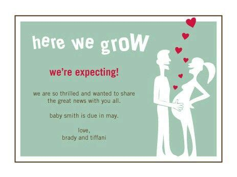 Card Expecting Baby - expecting a baby card read here