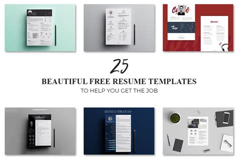 Beautiful Resume Templates Free by 25 Beautiful Free Resume Templates To Help You Get The