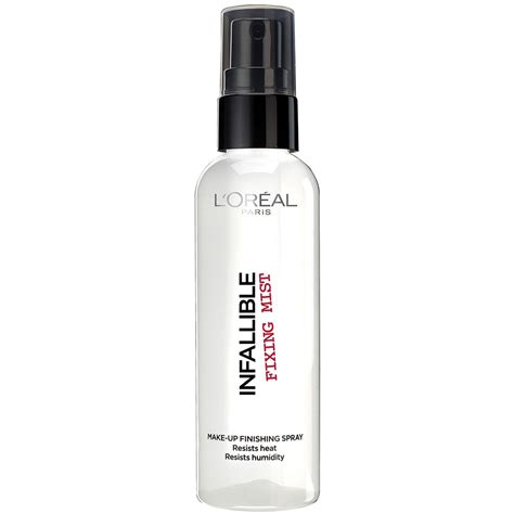 Make Up Setting Spray 100ml xịt l oreal infallible fixing mist setting spray 100ml