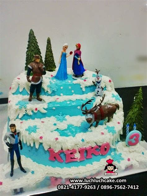 Buat Kue Ulang Tahun Frozen | gambar kue ultah cake ideas and designs