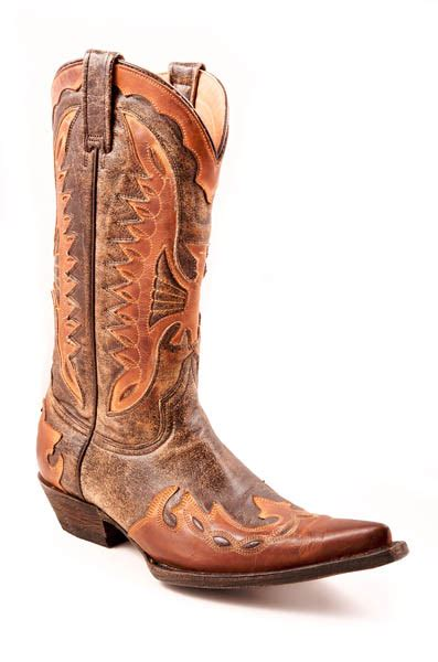 stetson mens cowboy boots nib stetson mens cowboy boots brown leather western eagle