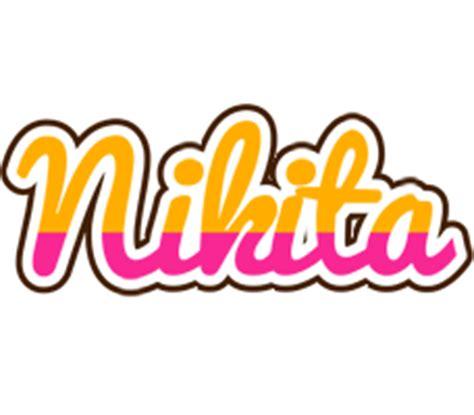 name style design nikita logo create custom nikita logo smoothie style