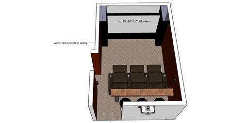 Small Home Theatre Dimensions Small Home Theater Design Questions Avs Forum Home
