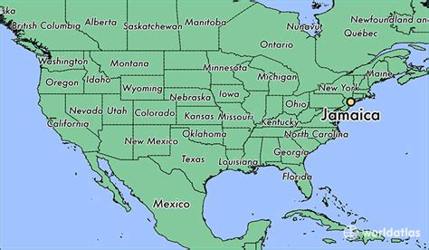 map world jamaica where is jamaica ny where is jamaica ny located in