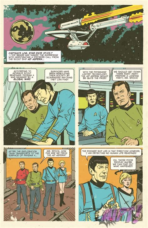 trek waypoint books comic review trek waypoint 2 trekmovie