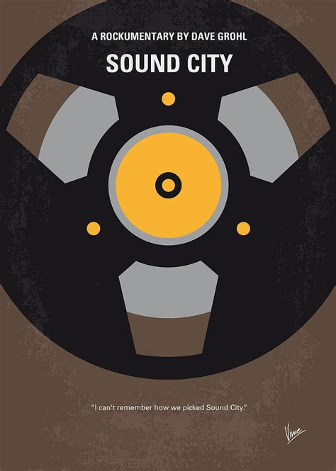 Digital Poster Esound Poster no181 my sound city minimal poster digital by