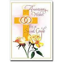 looking for a religious wedding anniversary card that s not run of the mill check out