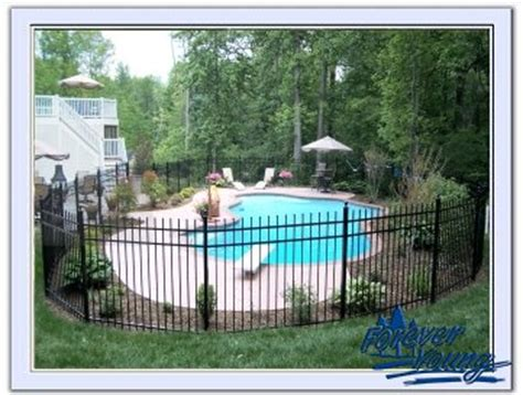 Forever young landscaping 187 pool hardscape and fence
