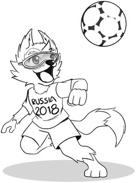 Free Coloring Page 2018 by Free Printable Fifa World Cup Coloring Pages