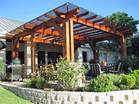 backyard covered pergola pergolas patio cover solutions