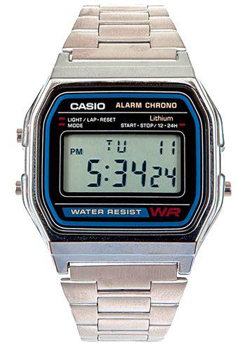 casio a158wa 1df đồng hồ casio standard a158wa 1df ch 237 nh h 227 ng