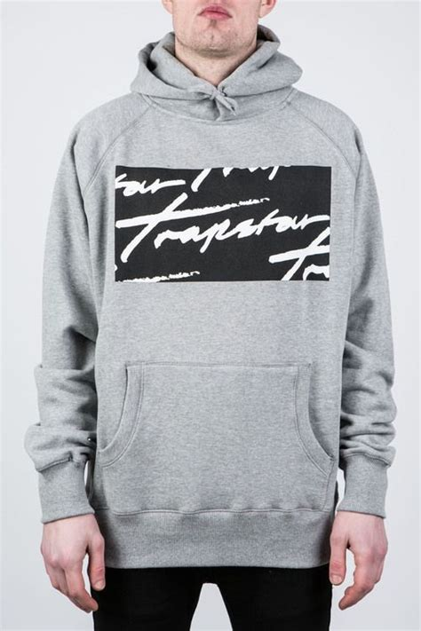 Hoodie Trapstar 1 signature box logo hoodie trapstar casual clothes products logos